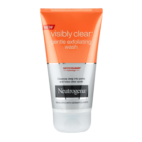 Neutogena Visibly Clear Gentle Exfoiliating Wash